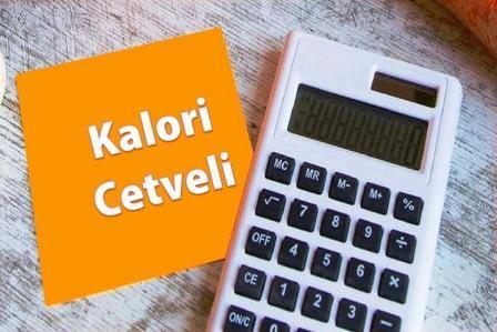 kalori cetveli_calorie calculator